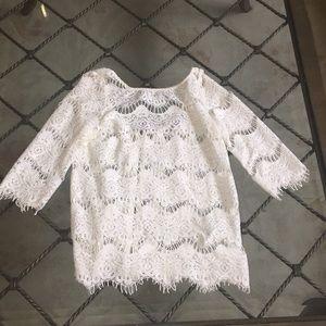 Zara crochet top